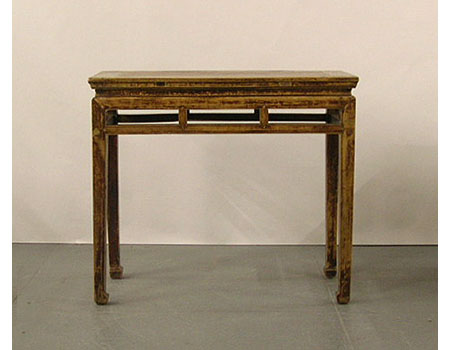 A Chinese country-style side table / wine table, Jiuzhuo